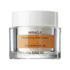 Крем ночной осветляющий THE SAEM MIRACLE Whitening Vita Cream 50 мл