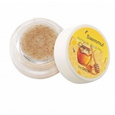Скраб для губ медовый THE SAEM Saemmul Honey Lip Scrub Pot 7гр