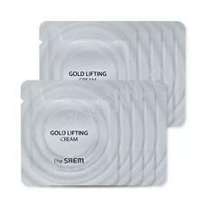 Крем антивозрастной с лифтинг-эффектом пробник THE SAEM  GOLD LIFTING CREAM Sample 2 мл