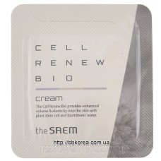 Крем антивозрастной пробник THE SAEM Cell Renew Bio Cream - Sample N 1мл