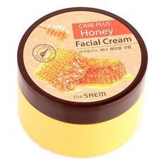 Крем для лица медовый THE SAEM CARE PLUS Honey Facial Cream 200 мл