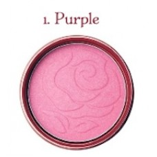 Румяна компактные SKINFOOD ROSE ESSENCE BLUSHER #1 PURPLE