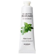 Крем для рук парфюмированый SKINFOOD Shea Butter Perfumed Hand Cream (Mint scent) 30 мл