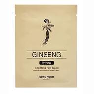 Маска для лица тканевая SKINFOOD Beauty in a Food Mask Sheet, Ginseng 18мл