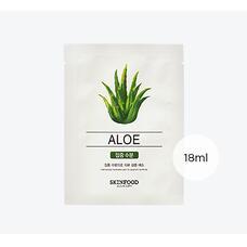 Маска для лица тканевая SKINFOOD Beauty in a Food Mask Sheet, Aloe 18мл