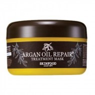 Маска для волос восстанавливающая с маслом арганы SKINFOOD Argan Oil Repair Plus Treatment Mask 200 гр
