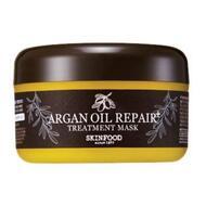 Маска для волос восстанавливающая с маслом арганы SKINFOOD Argan Oil Repair Plus Treatment Mask 200 гр