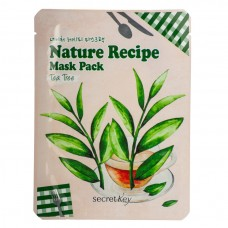 Маска тканевая чайное дерево SEСRET KEY Nature Recipe Mask Pack_Tea Tree 20гр