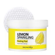 Диски ватные для очищающие SEСRET KEY Lemon Sparkling Peeling Pad 70 шт