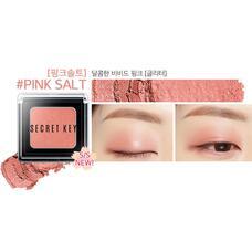 Тени для век моно SEСRET KEY Fitting Forever Single Shadow_#Pink Salt(Vivid Pink) 2,5 гр