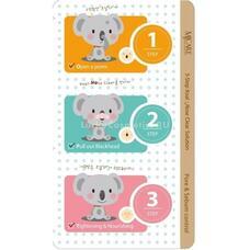 Набор от черных точек MIJIN 3-Step Koala Nose Clear Solution 7 гр