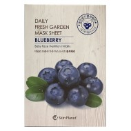 Маска для лица тканевая черника MIJIN Skin Planet daily fresh garden mask sheet BLUEBERRY 25 гр