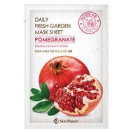 Маска для лица тканевая гранат MIJIN Skin Planet daily fresh garden mask sheet POMEGRANATE 25 гр