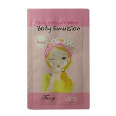 Эмульсия для тела персиковая пробник FASCY (Sample) Moisture Bomb Body Emulsion Peach 2мл