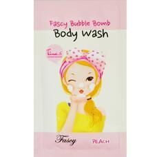 Гель для душа персиковый пробник FASCY (Sample) Bubble Bomb Body Wash Peach