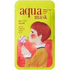 Маска для лица тканевая антивозрастная FASCY FRILE Tina Aqua Mask 26гр