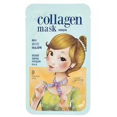 Маска для лица тканевая FASCY SCARF Tina Collagen Mask 26гр