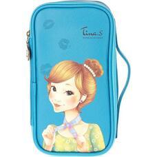 Косметичка FASCY PUNGSEON Tina PU Beauty Pouch (blue)