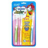 Зубная щетка набор 3шт CLIO Junior R 2+1