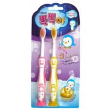 Зубная щетка набор 2шт CLIO Tangtani Normal 2