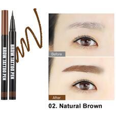 Ручка-татту для бровей BERRISOM Brow Tattoo Pen - Natural Brown 0,5гр