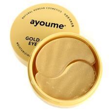 Патчи для глаз омолаживающие с золотом и улиточным муцином AYOUME GOLD+SNAIL EYE PATCH 1,4гр х 60