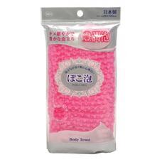 Мочалка средней жесткости OHE розовая