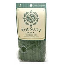 Мочалка для тела мягкая Премиум OHE темно-зеленая