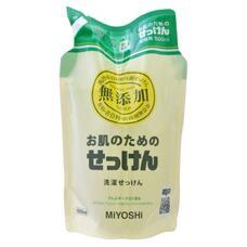 Жидкое средство для стирки основе натуральных комп. MIYOSHI для изделий из хлопка з/б 1000 мл