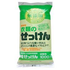 Жидкое средство для стирки основе натуральных комп. MIYOSHI для изделий из хлопка мягкая уп 1000 мл
