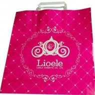 Пакет упаковочный бумажный Lioele Shopping Paper Bag (Renewal) Pink (257 x 278 x 90)