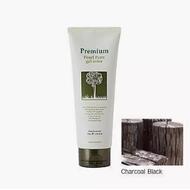 Гель-маникюр для волос (черн.) GAIN COSMETIC Haken Premium Pearll Pure Gel Color-Charcoal Black 220 гр
