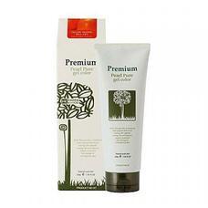 Гель-маникюр для волос (красн.-коричн) GAIN COSMETIC Haken Premium Pearll Pure Gel Color-Chestnut Brown Red 220 гр