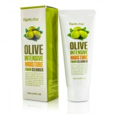 Пенка для умывания Farmstay OLIVE INTENSIVE MOISTURE FORM CLEANSER