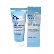 Пенка для умывания Farmstay o2 premium aqua foam cleansing