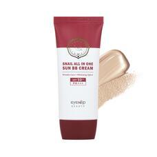Крем ББ для лица улиточный EYENLIP Snail All In One Sun BB Cream #23 Natural Beige 50 мл