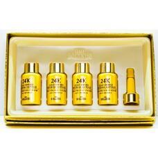 Эссенция с 24к золотом Urban Dollkiss Agamemnon 24K Gold 4Weeks Program Ampoule Kit 8мл*4
