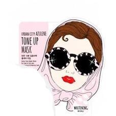 Маска для лица тканевая Urban City Azulene Tone-up Mask_Whitening 25 гр