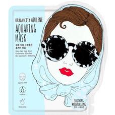 Маска для лица тканевая Urban City Azulene Aquaing Mask Soothing-Moisturizing 25 гр