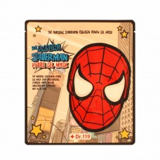Маска для лица гидрогелевая Urban Dollkiss Dr.119 THE AMAZING SPIDERMAN SNAIL NUTRITION GEL MASK 30 гр