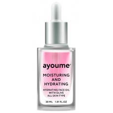 Масло для лица увлажняющее AYOUME Moisturing & Hydrating Face oil with Olive 30 мл