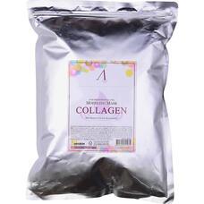 Маска альгинатная с коллагеном укрепляющая (пакет) ANSKIN Collagen Modeling Mask / Refill 1 кг