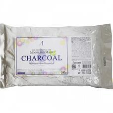Маска альгинатная для кожи с расшир.пор. пакет ANSKIN Original Charcoal Modeling Mask / Refill 240гр
