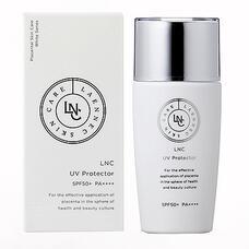 Крем для профилактики фотостарения GHC Placental Cosmetic LNC UV Protector SPF 50+ PA++++ 40 мл