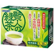 Зеленый чай и ГАБА ORIHIRO 30 пакетиков