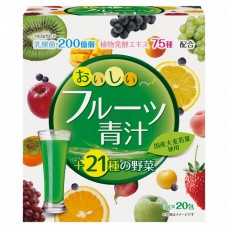Аодзиру YUWA с молочнокислыми бактериями и ферментами с фруктовым вкусом 20 стиков