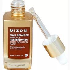 Сыворотка с экстрактом улитки MIZON SNAIL REPAIR EX AMPOULE 30 мл