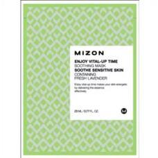 Маска листовая для лица укрепляющая MIZON ENJOY VITAL-UP TIME SOOTHING MASK 23 мл