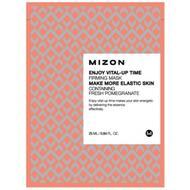 Маска листовая для лица укрепляющая с экстрактом граната MIZON ENJOY VITAL-UP TIME FIRMING MASK 25 мл
