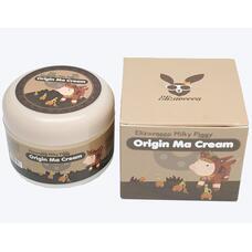 Крем для лица с лошадиным жиром  ELIZAVECCA Milky Piggy Origin Ma Cream 100 гр